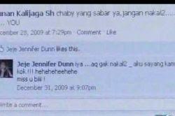 Status Facebook Jennifer Dunn