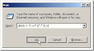 Cara Mengembalikan File Folder Yang Hilang Karena Virus