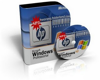 Microsoft Windows XP Professional SP3 X86 HP Edition