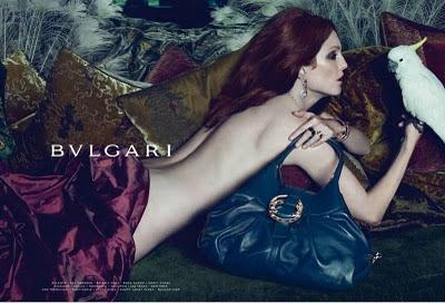 Julianne Moore Nude Photos in Bvlgari Ad