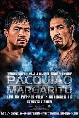 Manny Pacquiao vs Antonio Margarito Live Stream
