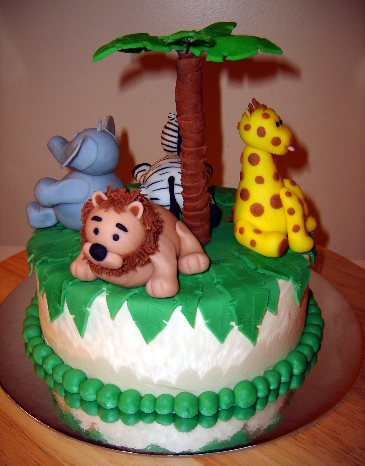 caketopia jungle baby shower cake