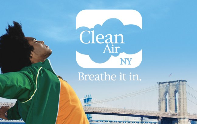 Clean Air NY. Breathe It In.