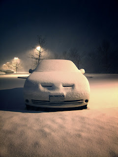 Snowed In Car