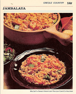Family night dinner ideas jambalaya this jambalaya recipe comes from mccalls great american recipe card collection 1973 creole country forumfinder Images