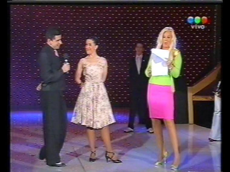 Adrián Laino con Susana Gimenez