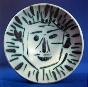 Picasso Ceramic plate
