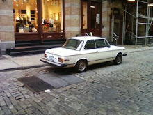 White BMW 2002