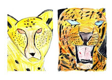 Child tiger drawings