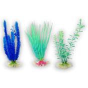 Plastic aquarium plants