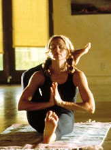 Madonna doing Ashtanga