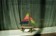 Toy Boat in Stockholm Window
