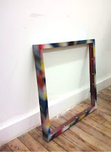 Spraypainted Frame