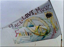 Handmade Woodstock flag