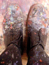 Painty shoes and pants