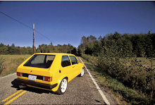 Yellow VW rabbit