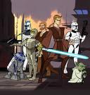 La mejor serie de animación:Star Wars the Clone Wars.