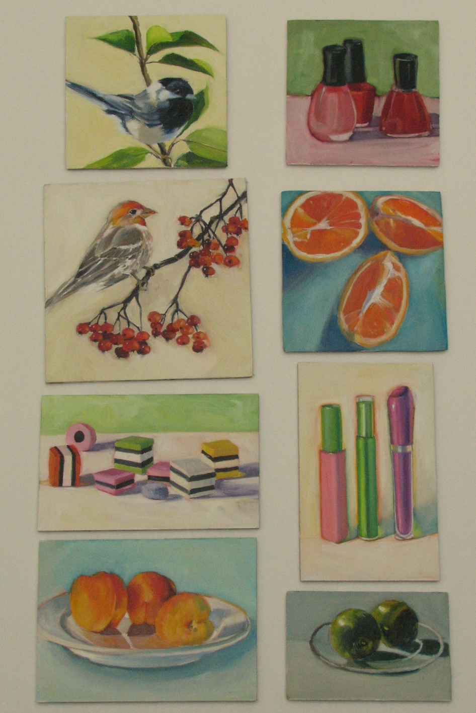 Art from my easel by jacqueline mcintyre small daily for Small paintings that sell