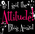 Award som jag fått av söta Emma med bloggen Livskrafter!