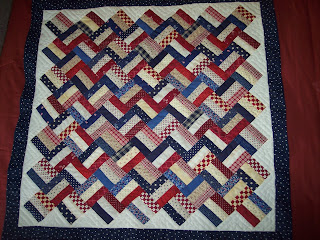 Delectable Mountain Pattern Quilt