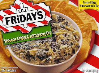 Sum Random Knowledge Tgi Friday S Microwaveable Spinach Cheese And Artichoke Dip
