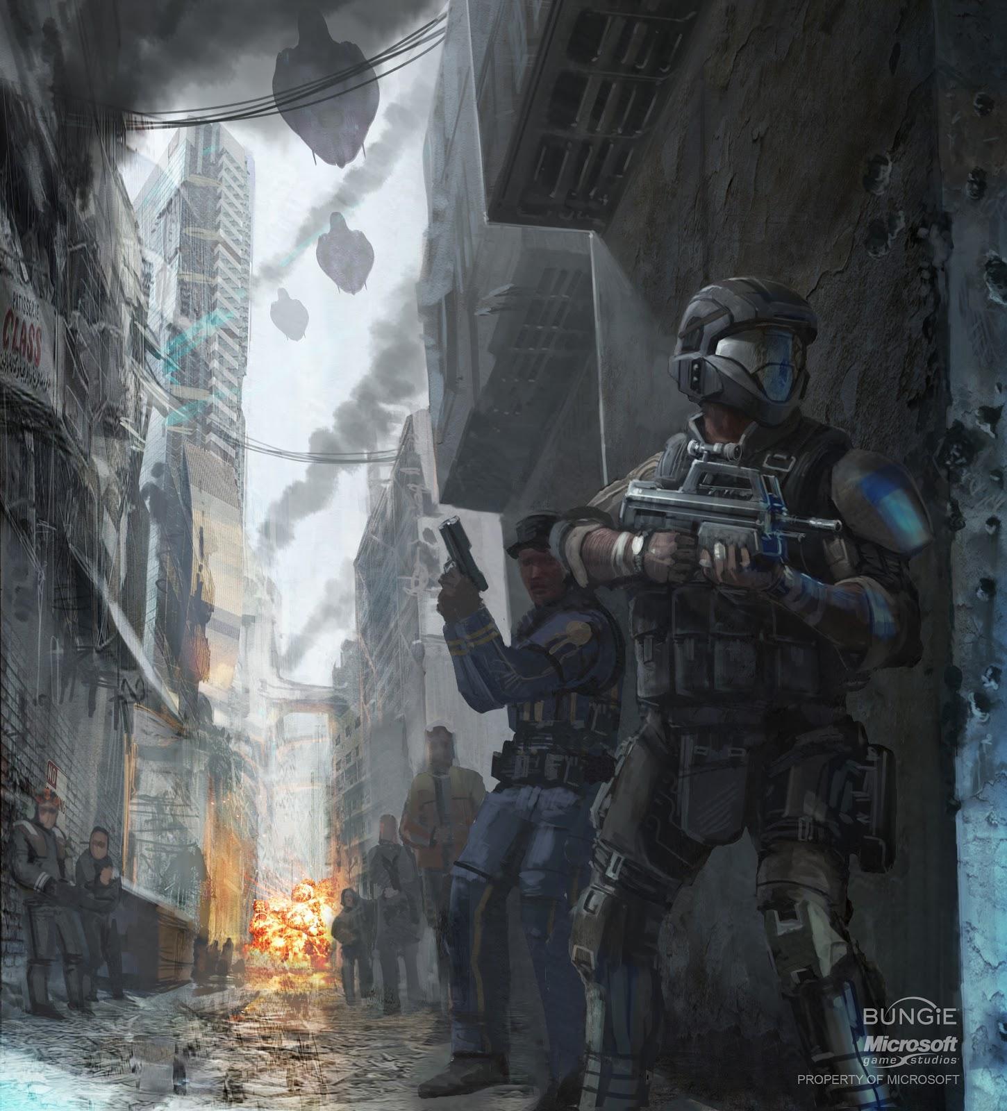 Halo Live Wallpaper: Art: Halo 3 Concept Art (update) 1/22/10