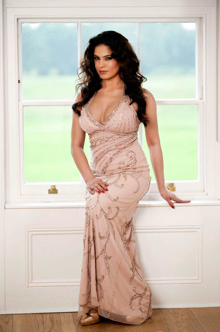 Pakistani actress and model Veena Malik, a Pakistani national television ...