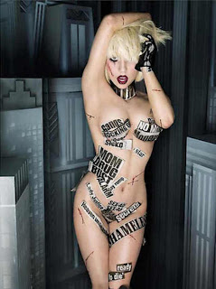 Tattoo Lady Gaga