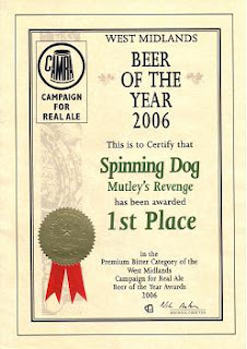 Spinning Dog Brewery UK