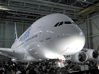 the first Airbus A380