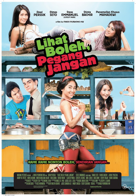 Poster Cover Lihat Boleh Pegang Jangan (Film 2010)