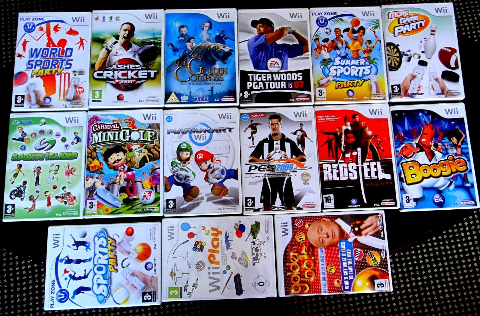 wii 4 player games list