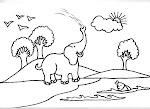 dibujo de un elefante!!!