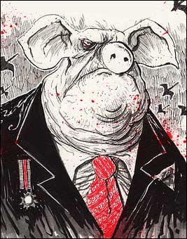 """napoleon of animal farm Animal farm: a fairy story [george orwell] on amazoncom free shipping on qualifying offers george orwell's timeless and timely allegorical novel—a scathing satire on a downtrodden society's blind march towards totalitarianism  """"all animals are equal."""