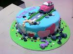 Cecilia's Cute Car Cake