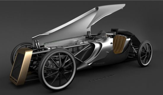 ECO car combines retro design with modern technology for a comfy ride Seen On www.coolpicturegallery.us
