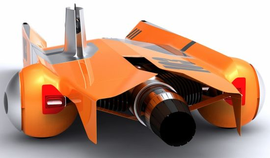 Jet-powered truck concept by Andrew Chirkova Seen On www.coolpicturegallery.us