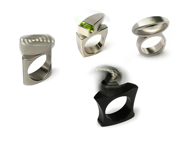 beautiful and creative kinetic rings spicytec