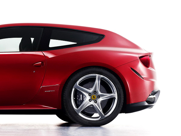 The 2012 Ferrari FF Concept is a four-seater capable of a 208 mph top speed