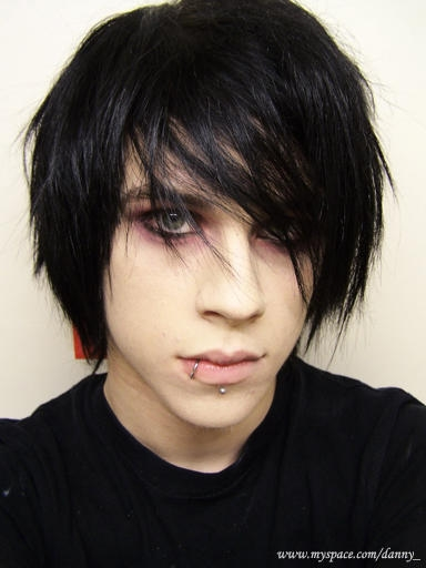 emo hairstyle. When making notes, will be helpful to talk to a professional