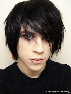 latest emo hairstyles. Cool Emo Hairstyle for Men