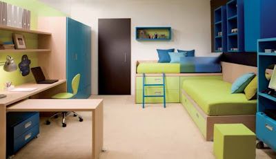 Cool Bedroom Designs Ideas for Two Children