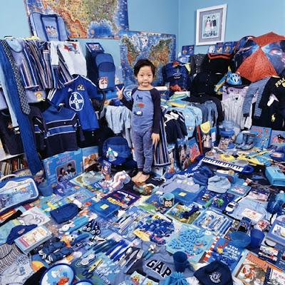 Cool Boy Blue Room - Kids Room Design 5