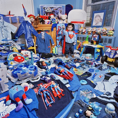 Cool Boy Blue Room - Kids Room Design 4