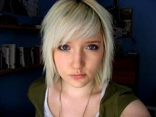 hairstyles for emo girls girl short emo hairstyle