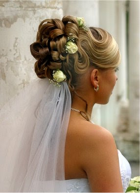 Wedding Updo Bun Hairstyle