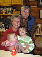 Loving Grandparents with their Grandkids