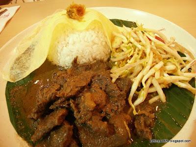 laksa shack. 1Malaysia Celebration Rice Set at Laksa Shack