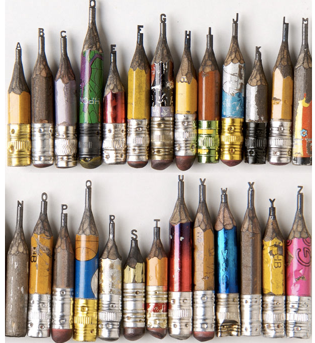 Pencil Lead Art ms fish: Lead Pencil A...