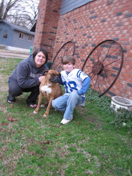 me and Peyton